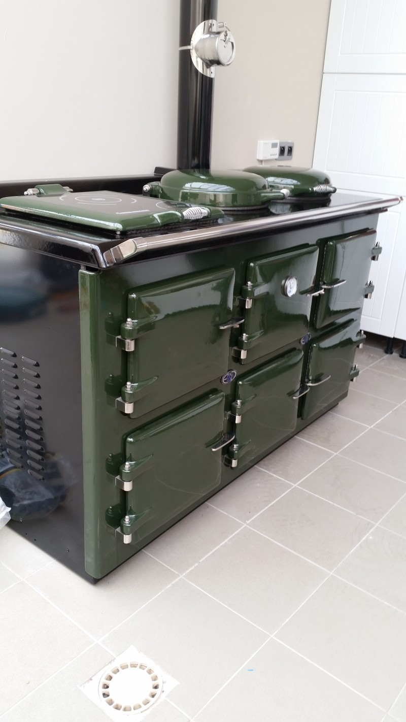 Aga Range Cookers - Thornhill ECO Pellet fired