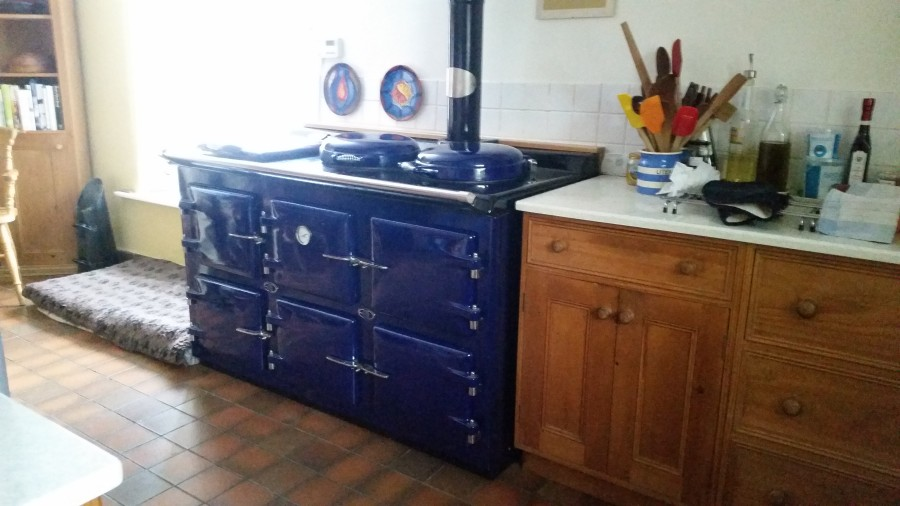 AGA wood pellet cooker