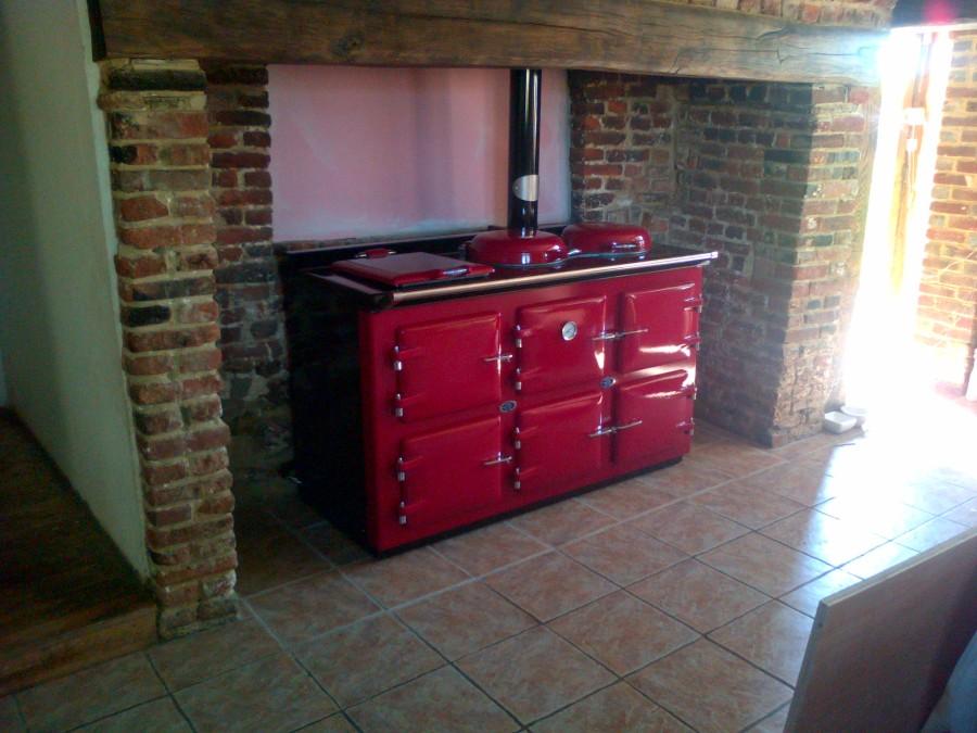 AGA cooker pellet 3 oven