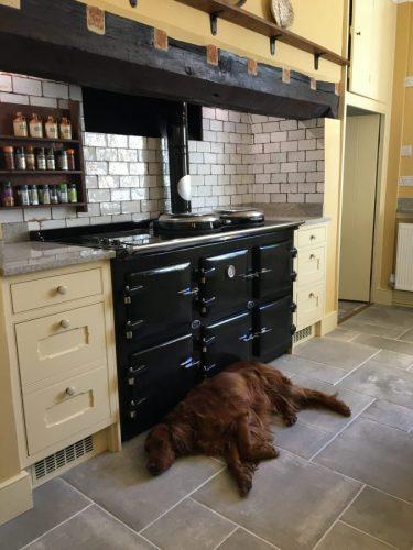 AGA 5 oven oil