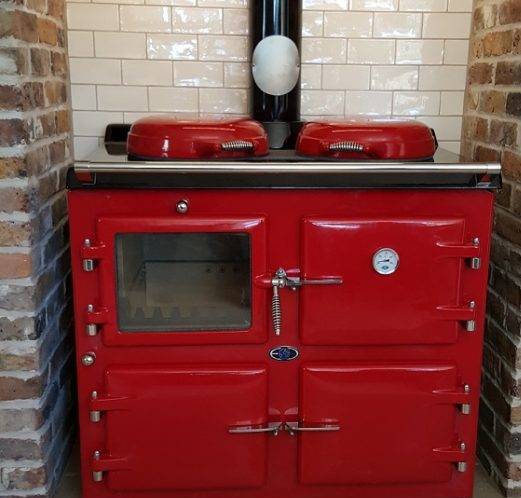 Aga range cooker 3 oven wood fired carbon neutral