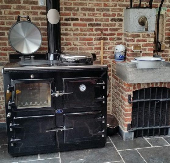 Wood fired AGA 3 oven